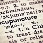 Should acupuncturists specialise?