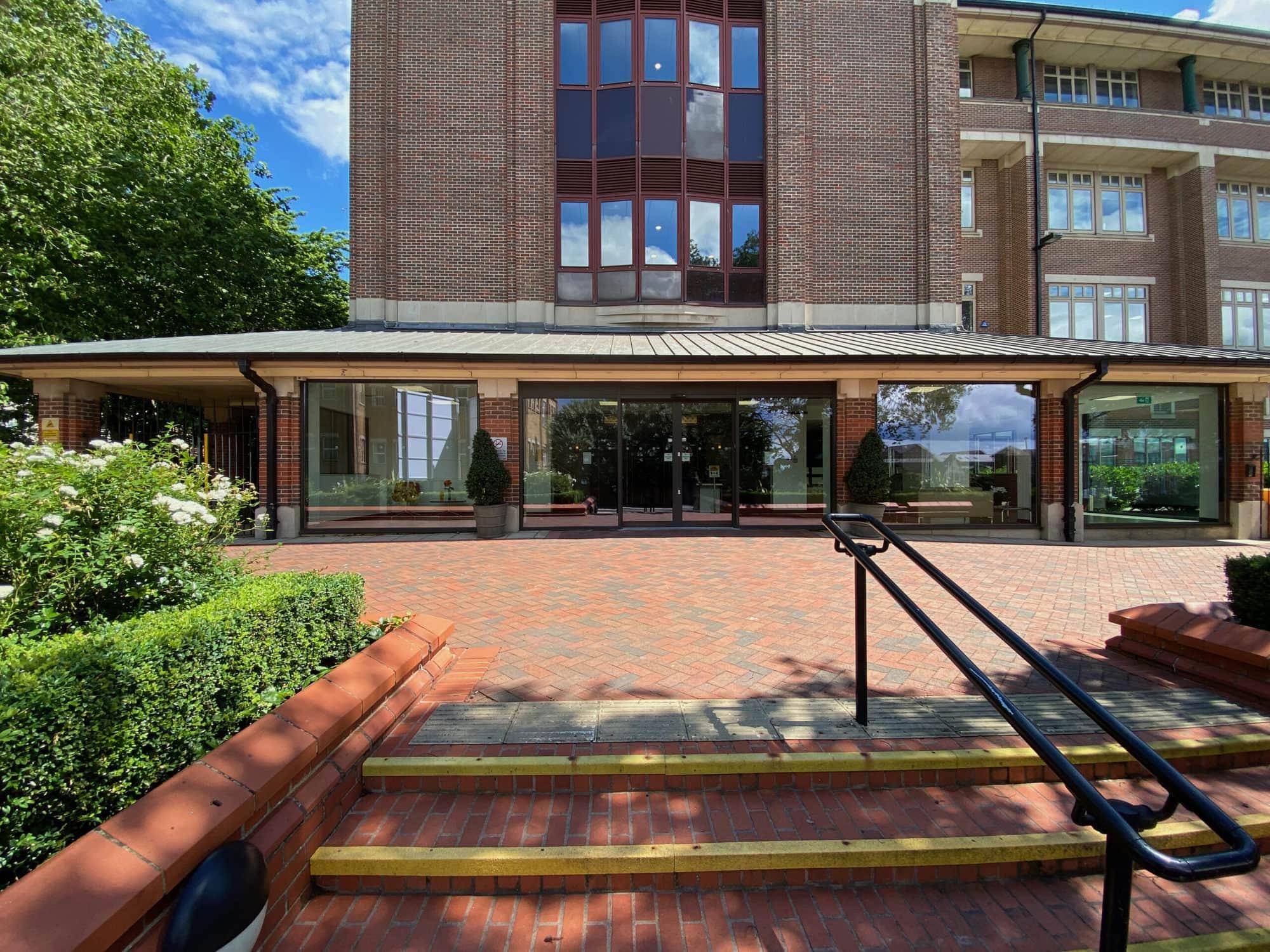 Southgate House Front entrance